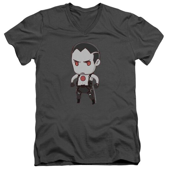 Bloodshot Chibi Short Sleeve Adult V Neck T-Shirt