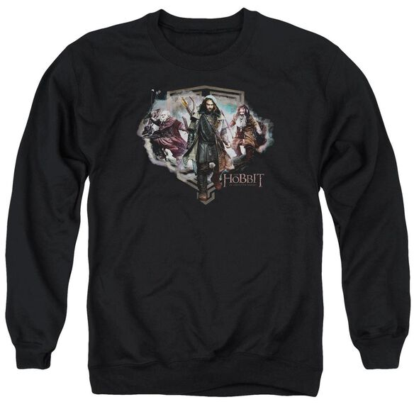 The Hobbit Three Dwarves Adult Crewneck Sweatshirt