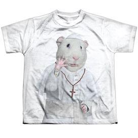 Pets Rock Church Short Sleeve Youth Poly Crew T-Shirt