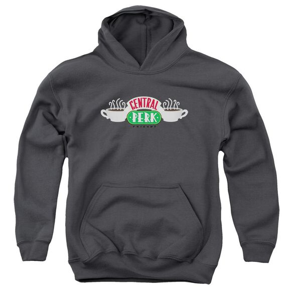 Friends Central Perk Logo Youth Pull Over Hoodie