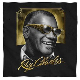Ray Charles Golden Glasses Bandana