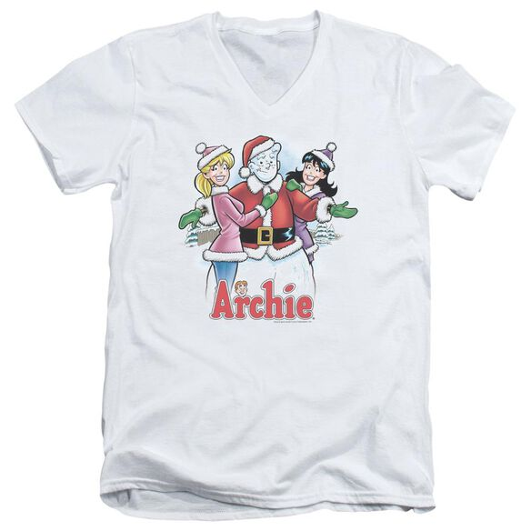 Archie Comics Cover 223 Short Sleeve Adult V Neck T-Shirt