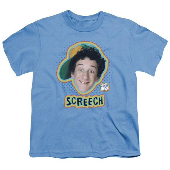 Saved By The Bell Screech Short Sleeve Youth Carolina T-Shirt