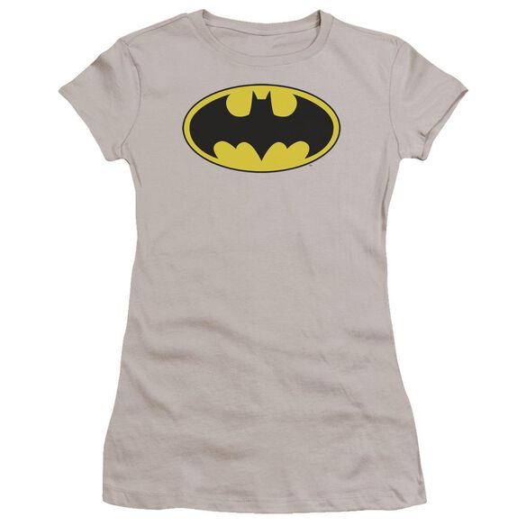 Dc Batman Logo Premium Bella Junior Sheer Jersey
