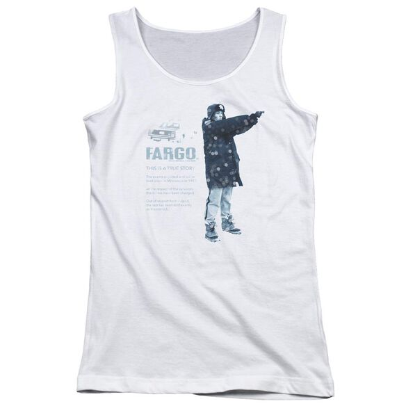 Fargo This Is A True Story Juniors Tank Top