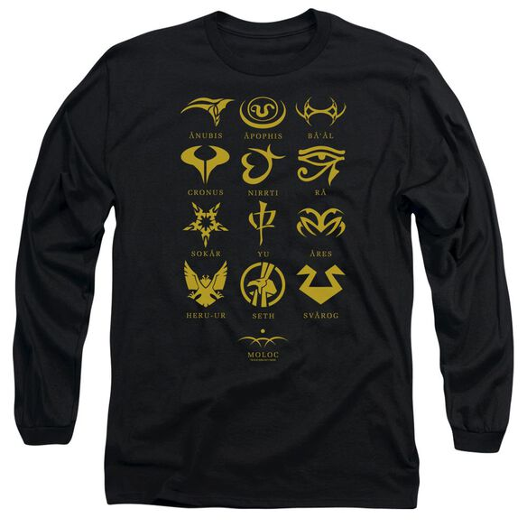 Sg1 Goauld Characters Long Sleeve Adult T-Shirt