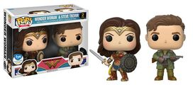 Exclusive Wonder Woman & Steve Trevor [2 pack] Funko Pop!