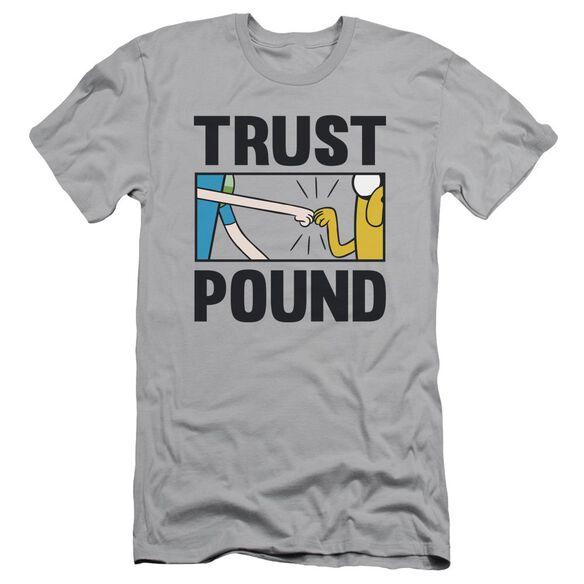 Adventure Time Trust Pound Short Sleeve Adult T-Shirt