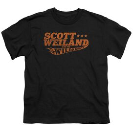 Scott Weiland Logo Short Sleeve Youth T-Shirt