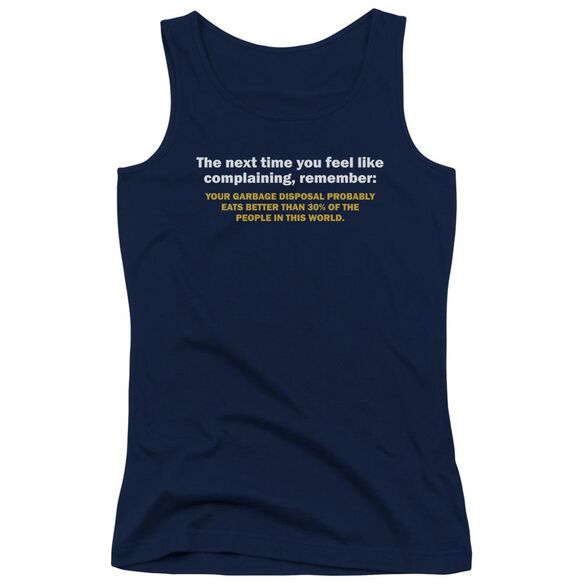Garbage Disposal Juniors Tank Top