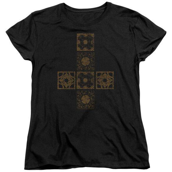 Hellraiser Lemarchands Puzzle Box Short Sleeve Womens Tee T-Shirt