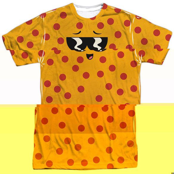 UNCLE GRANDPA PIZZA FACE-S/S ADULT T-Shirt