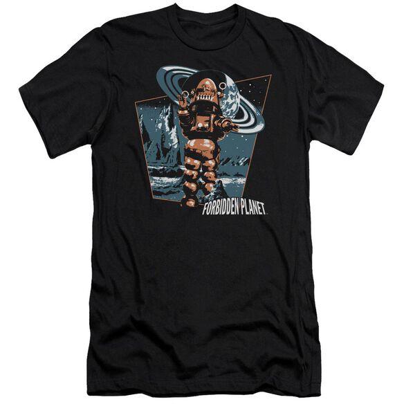 Forbidden Planet Robby Walks Short Sleeve Adult T-Shirt