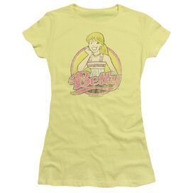 Archie Comics Betty Distressed Short Sleeve Junior Sheer T-Shirt