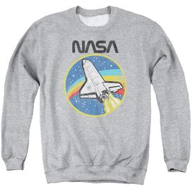 Nasa Shuttle Adult Crewneck Sweatshirt Athletic
