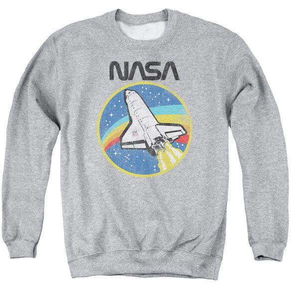 Nasa Shuttle Adult Crewneck Sweatshirt Athletic