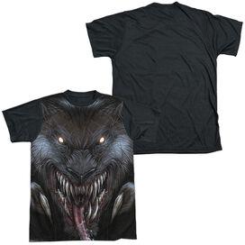 Zenoscope Werewolf Short Sleeve Adult Front Black Back T-Shirt