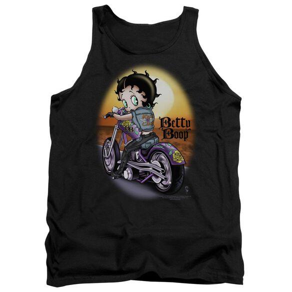 Betty Boop Wild Biker Adult Tank