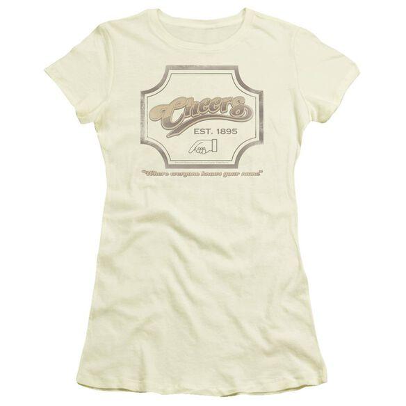 CHEER IGN - S/S JUNIOR SHEER - CREAM T-Shirt