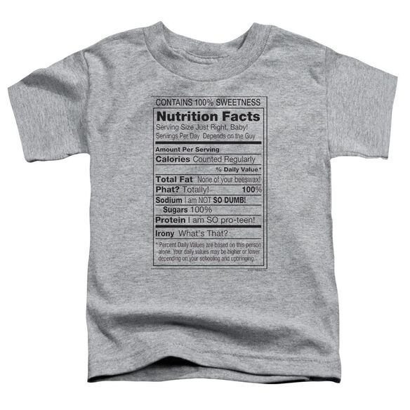 100% SWEETNESS- TODDLER T-Shirt