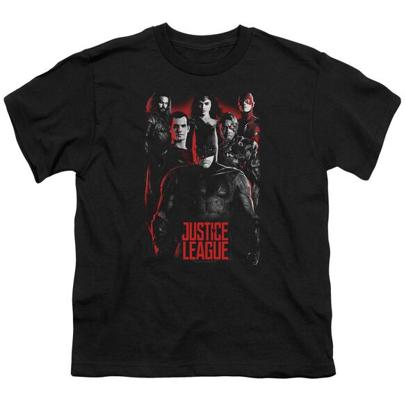 Justice League Movie The League Short Sleeve Youth T-Shirt