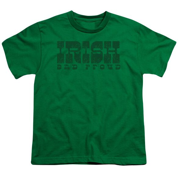 Irish And Proud Short Sleeve Youth Kelly T-Shirt