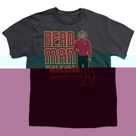 STAR TREK DEAD MAN WALKING - S/S YOUTH 18/1 - CHARCOAL T-Shirt