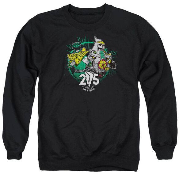 Power Rangers Green 25 Adult Crewneck Sweatshirt