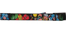 Avengers Group Black Mesh Belt