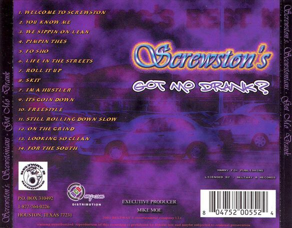 Screwed Screwston:Mo Dran