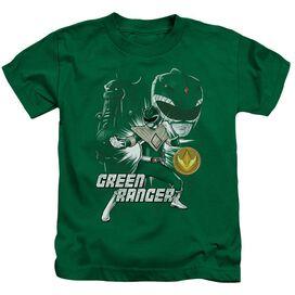 Power Rangers Ranger Short Sleeve Juvenile Kelly T-Shirt