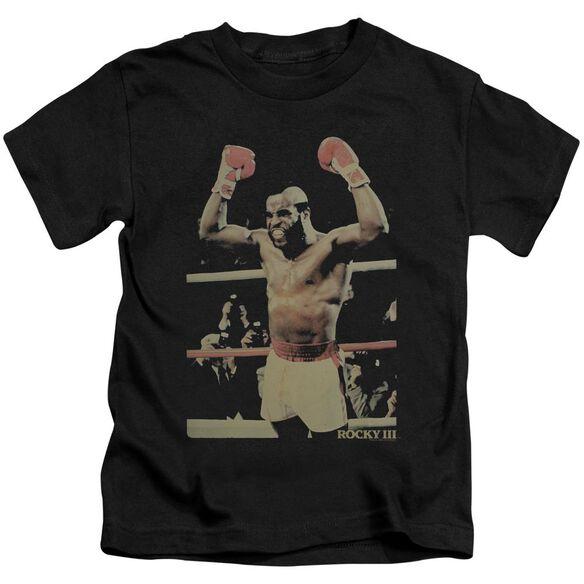 Rocky Iii Clubber Short Sleeve Juvenile T-Shirt