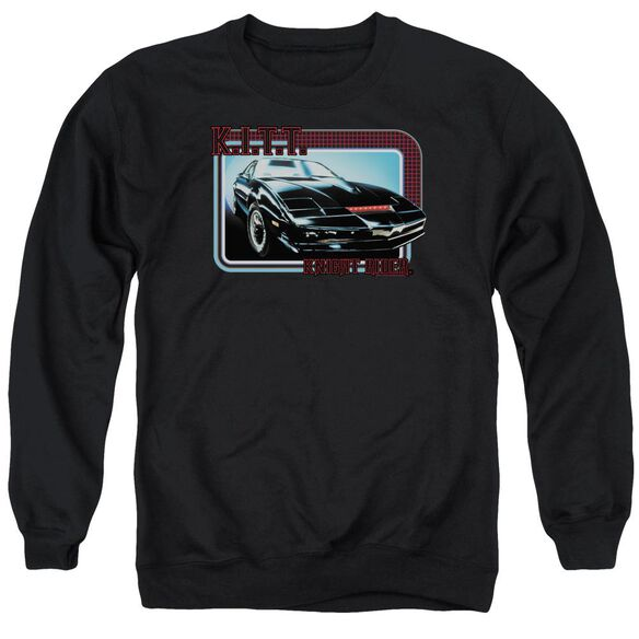 Knight Rider Kitt Adult Crewneck Sweatshirt