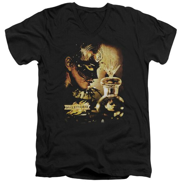 Mirrormask Trapped Short Sleeve Adult V Neck T-Shirt