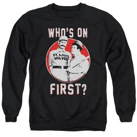 Abbott & Costello First Adult Crewneck Sweatshirt