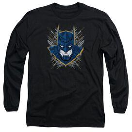 Batman Unlimited Bat Stare Long Sleeve Adult T-Shirt