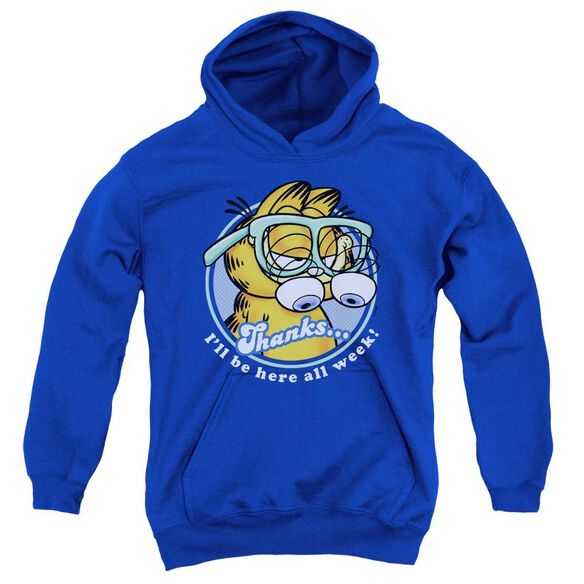 Garfield Performing Youth Pull Over Hoodie