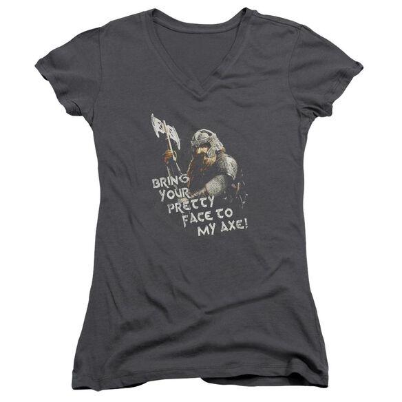 Lor Pretty Face Junior V Neck T-Shirt