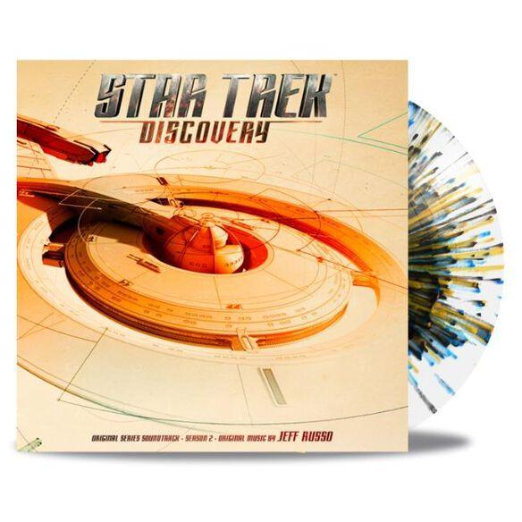 Jeff Russo - Star Trek Discovery Season 2 - Original Series Soundtrack [Exclusive 2LP Interstellar Splatter Vinyl]