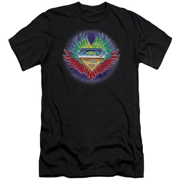 Superman Don't Stop Believing Premuim Canvas Adult Slim Fit