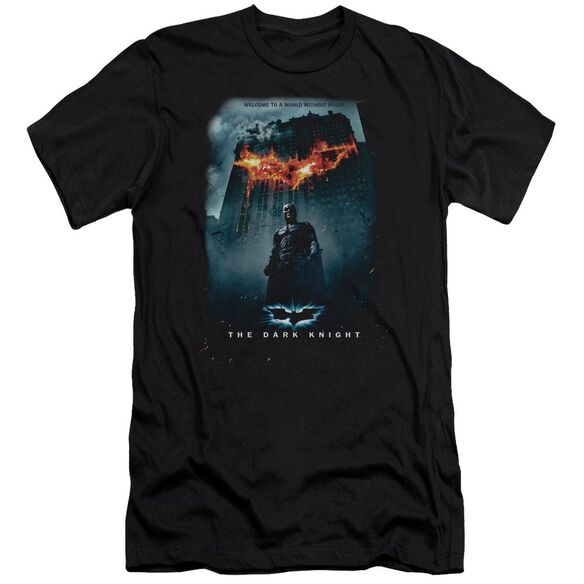 Dark Knight Without Rules Poster Short Sleeve Adult T-Shirt