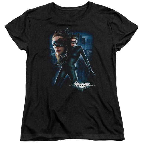Dark Knight Rises Catwoman Short Sleeve Womens Tee T-Shirt
