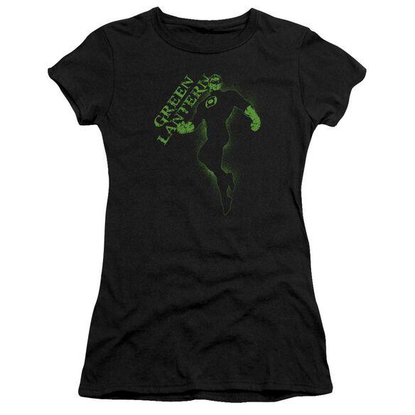 Gl Lantern Darkness Short Sleeve Junior Sheer T-Shirt