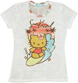 Hello Kitty Sun Kissed Baby Tee