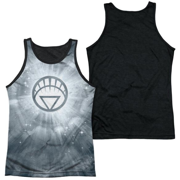 Green Lantern Energy Adult Poly Tank Top Black Back