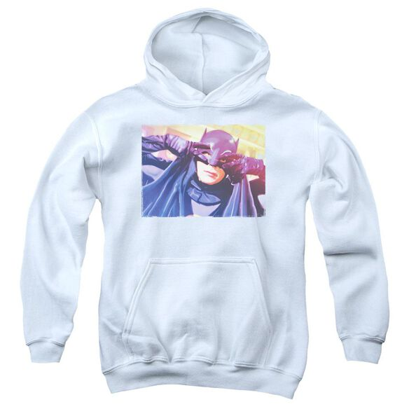 Batman Classic Tv Smooth Groove Youth Pull Over Hoodie