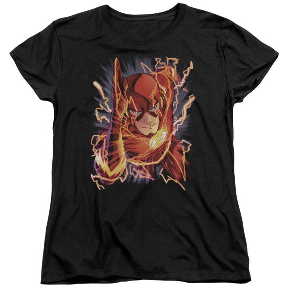 Jla Flash #1 Short Sleeve Womens Tee T-Shirt