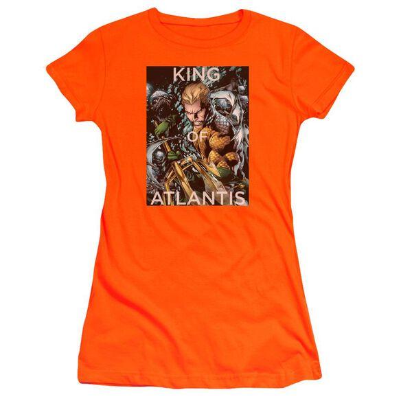 Jla King Of Atlantis Premium Bella Junior Sheer Jersey