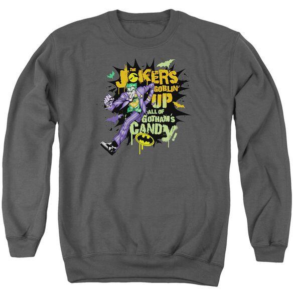 Batman Goblin Candy Adult Crewneck Sweatshirt