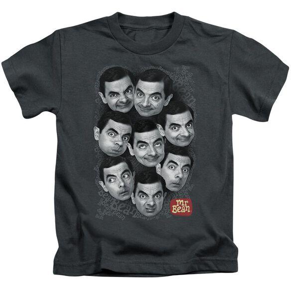 Mr Bean Heads Short Sleeve Juvenile T-Shirt